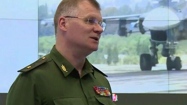Oficiální zástupce ruského ministerstva obrany Igor Konašenkov - Sputnik Česká republika
