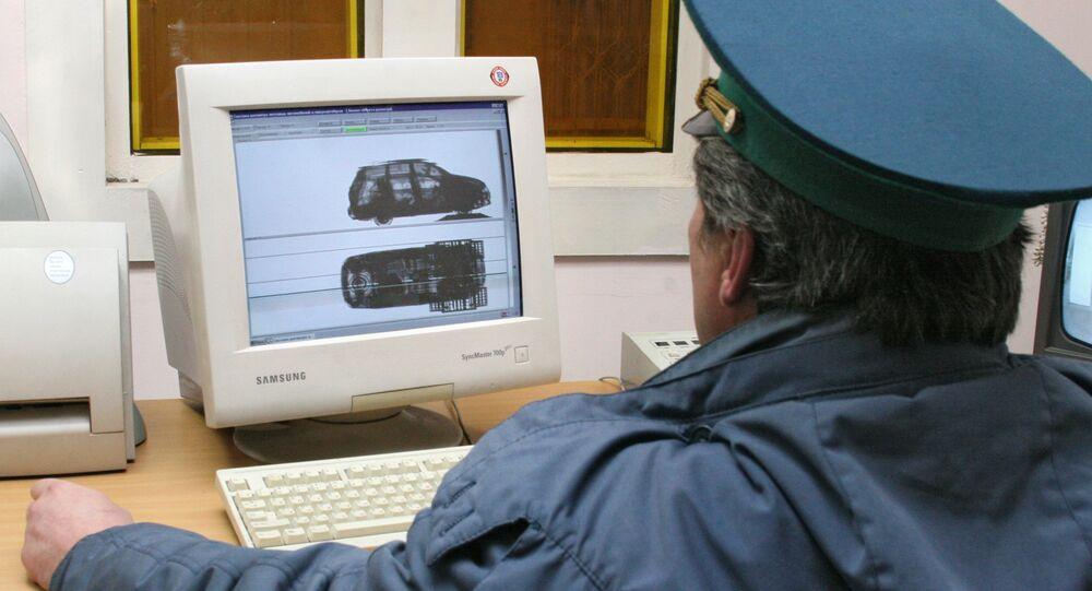 Kontrolní stanoviště na ukrajinsko-ruské hranici. Archivní foto
