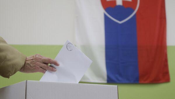Volby na Slovensku 2016 - Sputnik Česká republika