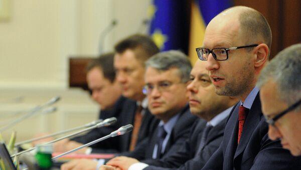 Zasedání ukrajinské vlády - Sputnik Česká republika