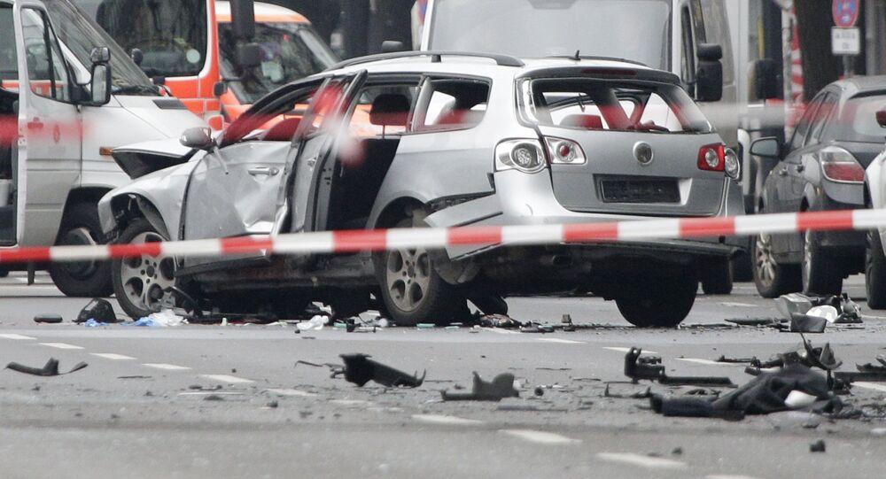 V Berlíně explodoval automobil, zřejmě naplněný výbušninou