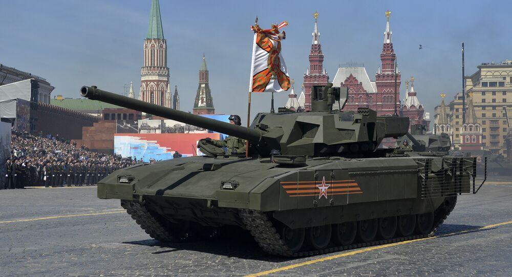 Bojový stroj T-14 Armata