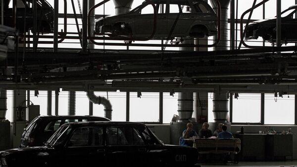 Automobilka AutoVAZ v Toljatti - Sputnik Česká republika