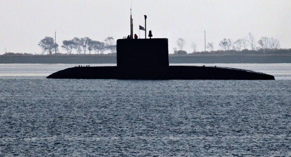 Ruská ponorka třídy Kilo