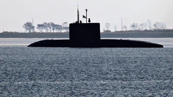 Ruská ponorka třídy Kilo - Sputnik Česká republika
