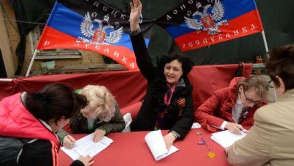 Referendum v DLR - Sputnik Česká republika