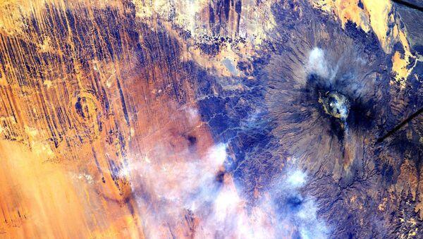 Pohled na Afriku z Mezinárodní vesmírné stanice - Sputnik Česká republika