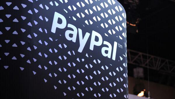 Logotyp PayPal - Sputnik Česká republika
