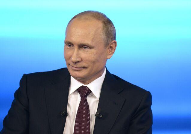 Přímá linka s Vladimírem Putinem