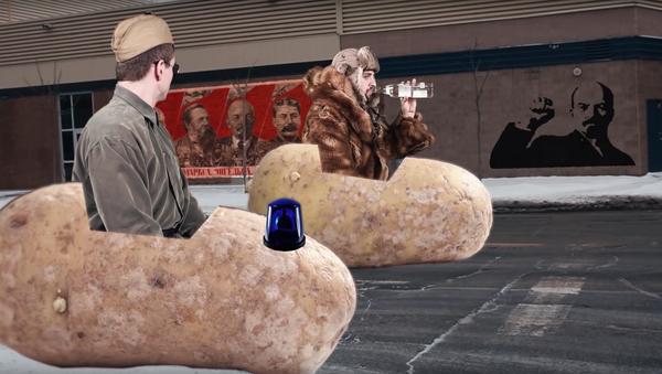 Kanaďané ukázali absurdní reklamu na neexistující ruskou vodku - Sputnik Česká republika