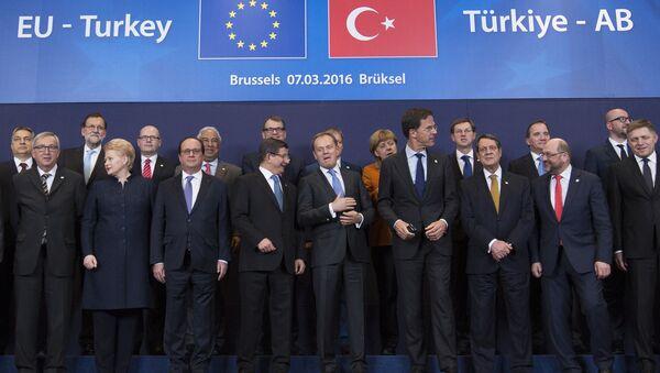 Summit EU-Turecko v Bruselu - Sputnik Česká republika
