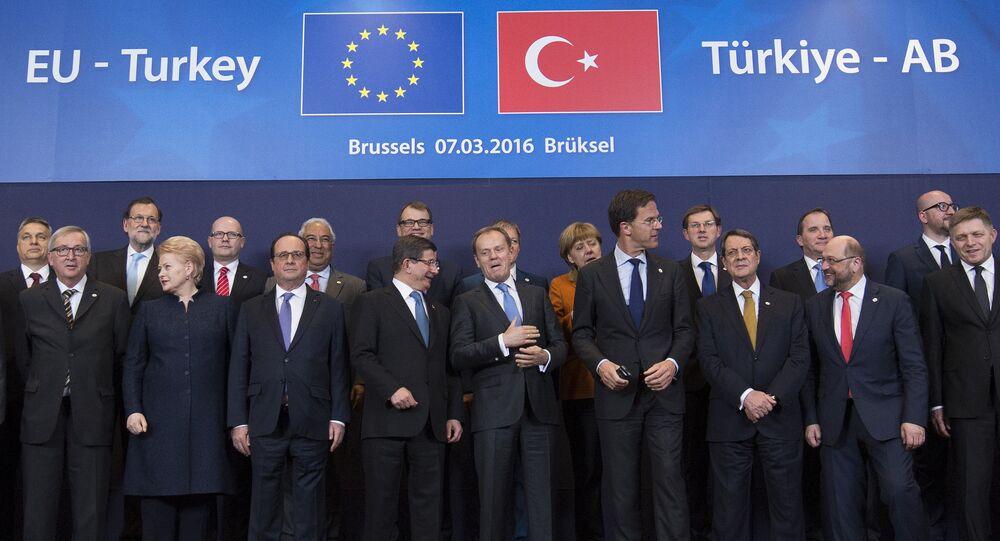 Summit EU-Turecko v Bruselu