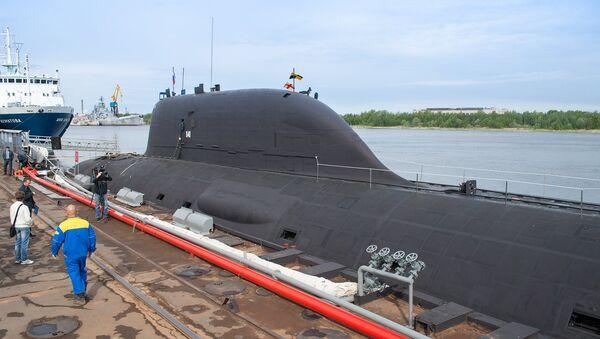 Atomové ponorka projektu 885 Jaseň - Sputnik Česká republika