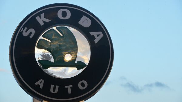 Logo Škody - Sputnik Česká republika