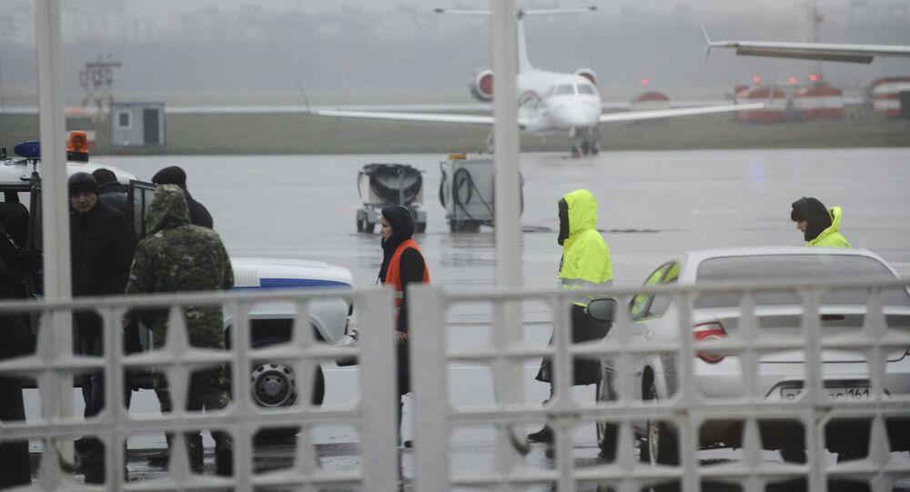 Letiště v Rostově na Donu, kde havaroval Boeing-737-800