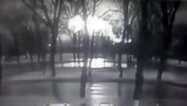 Na internetu se objevily záběry pádu Boeingu v Rostovu na Donu - Sputnik Česká republika