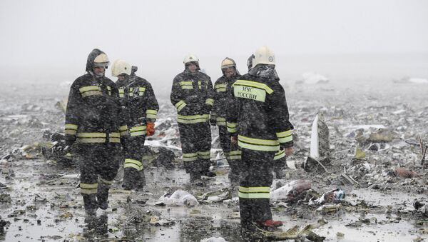 Místo havárie Boeingu 737-800 v Rostově na Donu - Sputnik Česká republika