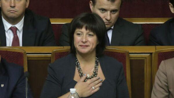 Bývalá ministryně financí Ukrajiny Natalja Jaresková - Sputnik Česká republika