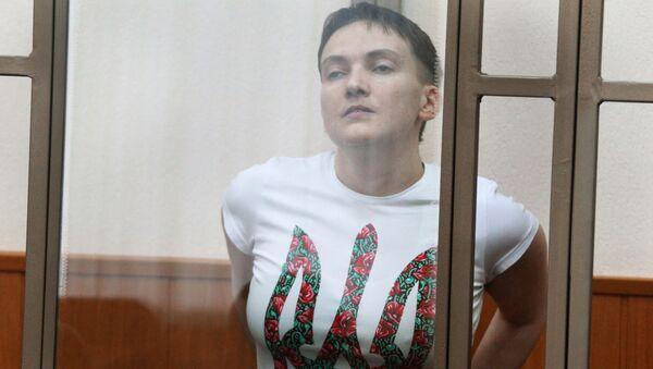 Nadija Savčenková - Sputnik Česká republika