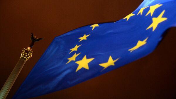 An EU flag - Sputnik Česká republika