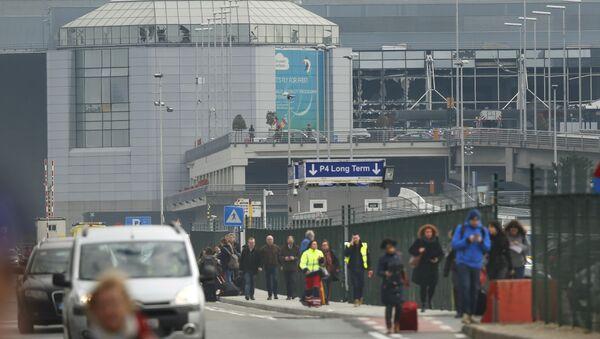Bruselské letiště - Sputnik Česká republika