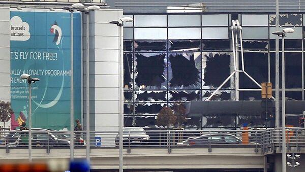 Výbuchy v Bruselu - Sputnik Česká republika
