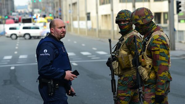 Belgická policie - Sputnik Česká republika