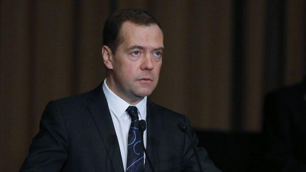 Premiér RF Dmitrij Medveděv - Sputnik Česká republika