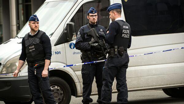 Bruselští policisté - Sputnik Česká republika