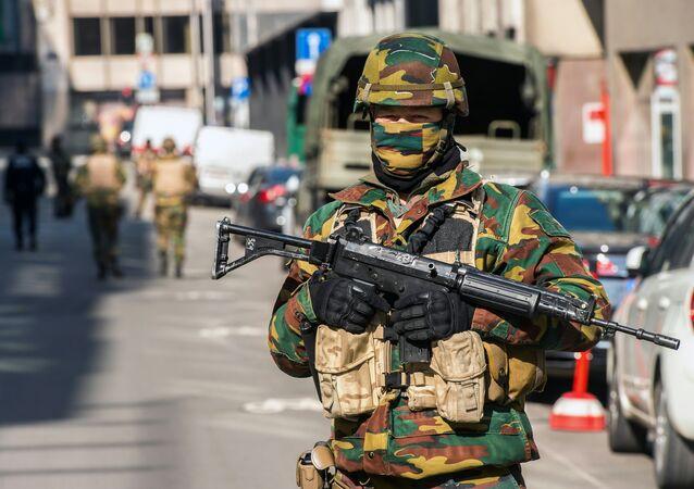 Voják v Bruselu