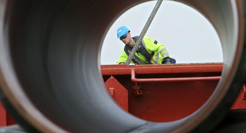 Stavba plynovovdu Severní proud 2