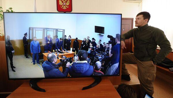 Ohlášení rozsudku Savčenkové - Sputnik Česká republika