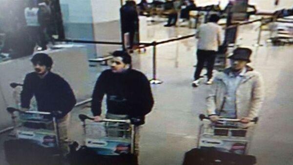 Bratři Ibrahim a Khalim Bakrauiovi, podezřelí ze spáchání teroristických činů v Bruselu - Sputnik Česká republika