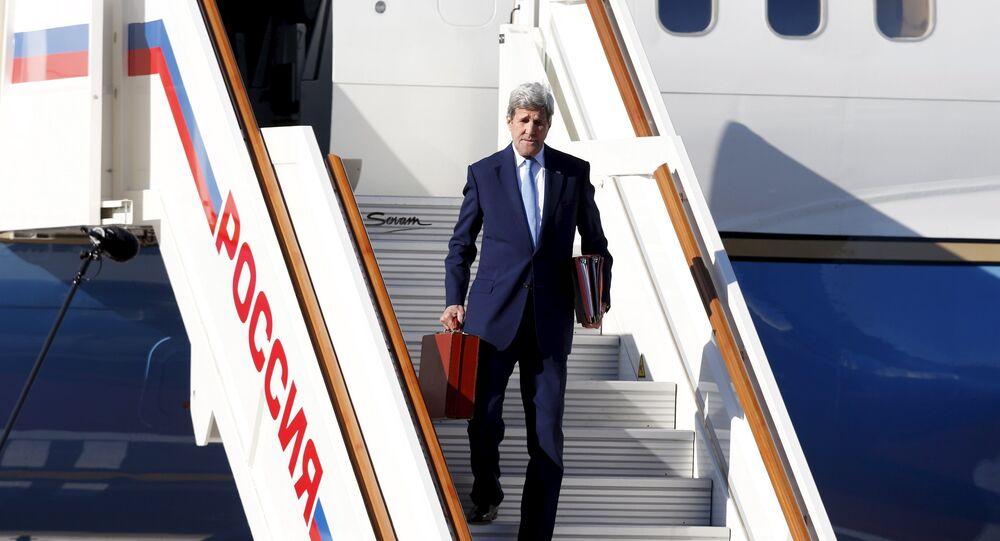 John Kerry v Moskvě