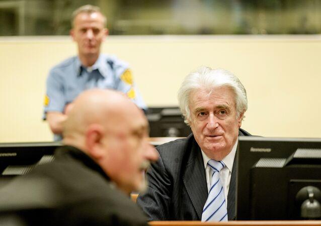Bývalý lídr bosenských Srbů Radovan Karadžič