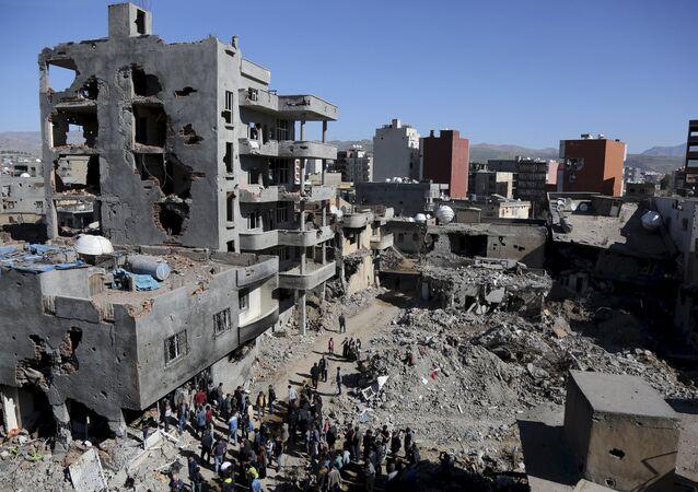 Situace v Cizre, Turecko