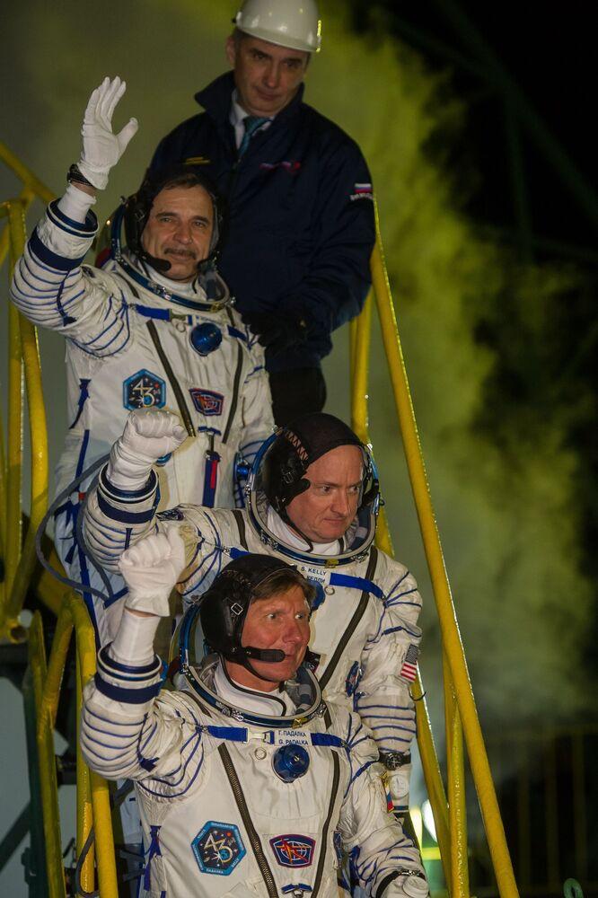 Ruský kosmonaut Michail Kornijenko