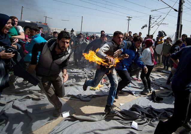 Migranti v EU
