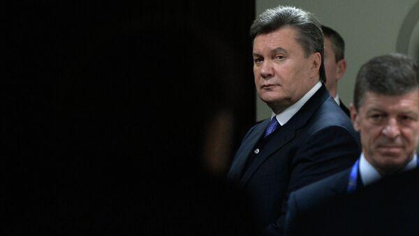 Viktoru Janukovyč - Sputnik Česká republika