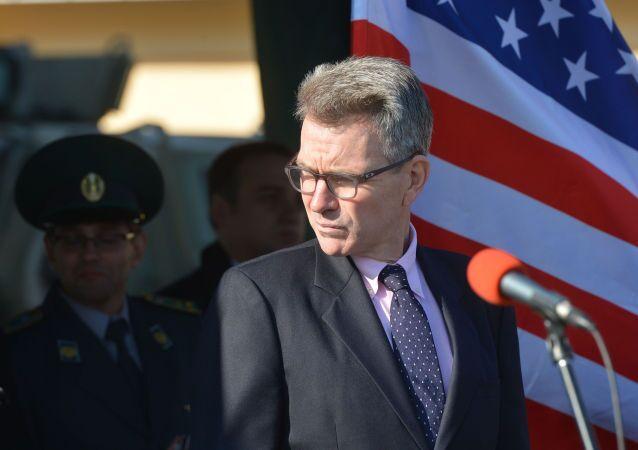 Velvyslanec USA v Kyjevě Geoffrey Pyatt