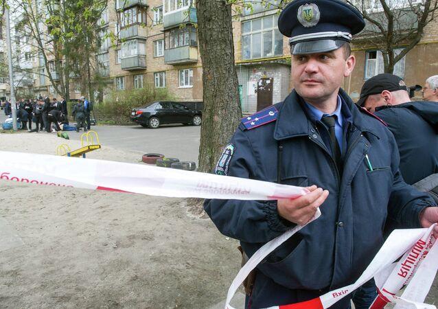 Místo vraždy Olesa Buzyny