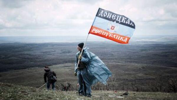 Obyvatelé Donbasu - Sputnik Česká republika