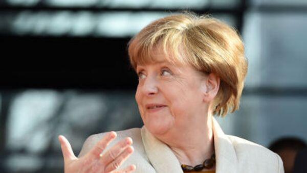 Německá kancléřka Angela Merkelová. - Sputnik Česká republika