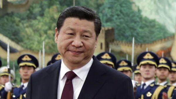 Čínský prezident Si Ťin-pching. - Sputnik Česká republika