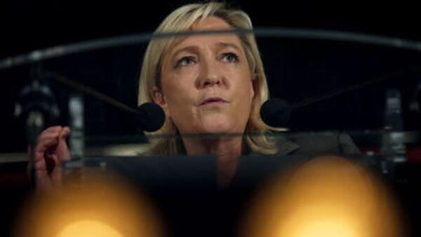 Předsedkyně Národní fronty a poslankyně Evropského parlamentu Marine Le Penová. - Sputnik Česká republika