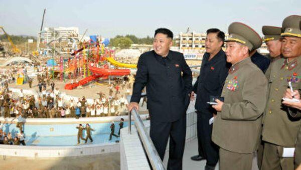 Vůdce Severní Koreje Kim Čong-un. - Sputnik Česká republika