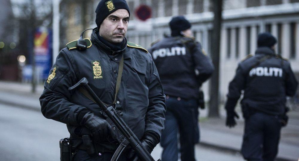 Dánská police v Kodani