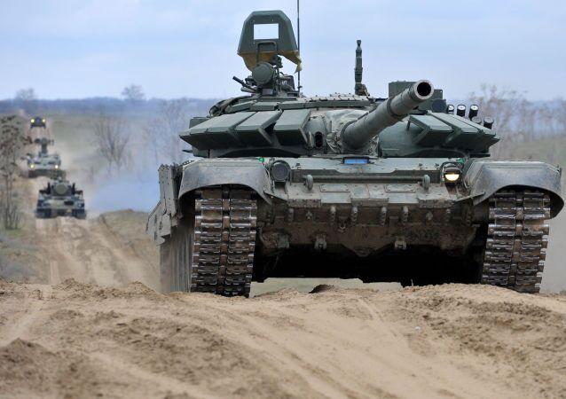 Vojenská cvičení ruské armady