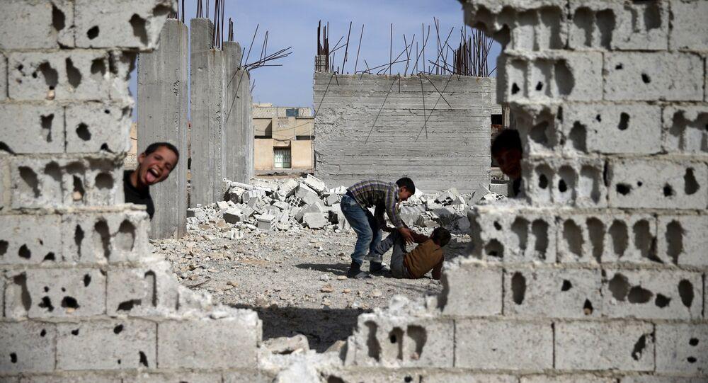 Syrské město Duma