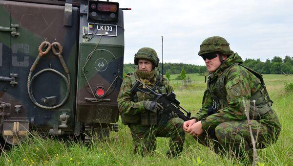 Litevští vojáci - Sputnik Česká republika